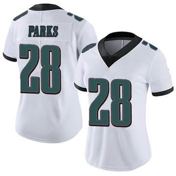 Women's Nike Philadelphia Eagles Will Parks White Vapor Untouchable Jersey - Limited