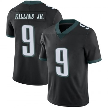 Youth Nike Philadelphia Eagles Adrian Killins Jr. Black Alternate Vapor Untouchable Jersey - Limited