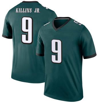 Youth Nike Philadelphia Eagles Adrian Killins Jr. Green Jersey - Legend