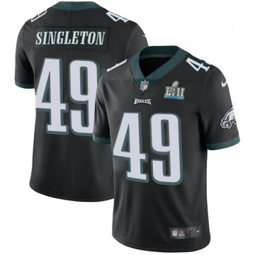 Youth Nike Philadelphia Eagles Alex Singleton Black Alternate Super Bowl LII Vapor Untouchable Jersey - Limited