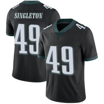 Youth Nike Philadelphia Eagles Alex Singleton Black Alternate Vapor Untouchable Jersey - Limited