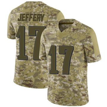 Youth Nike Philadelphia Eagles Alshon Jeffery Camo 2018 Salute to Service Jersey - Limited