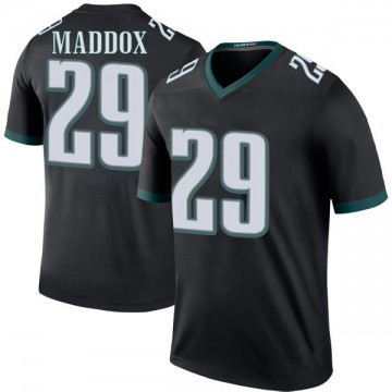 Youth Nike Philadelphia Eagles Avonte Maddox Black Color Rush Jersey - Legend