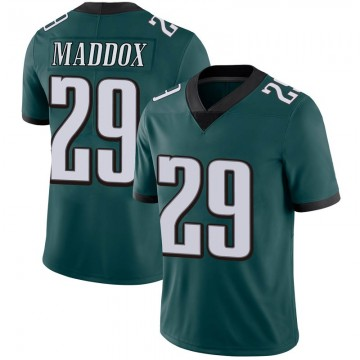 Youth Nike Philadelphia Eagles Avonte Maddox Green Midnight 100th Vapor Jersey - Limited