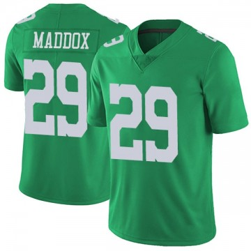 Youth Nike Philadelphia Eagles Avonte Maddox Green Vapor Untouchable Jersey - Limited