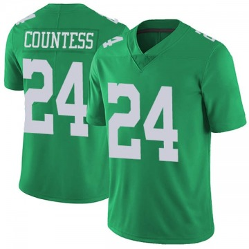 30b710d1b Youth Nike Philadelphia Eagles Blake Countess Green Vapor Untouchable Jersey  - Limited