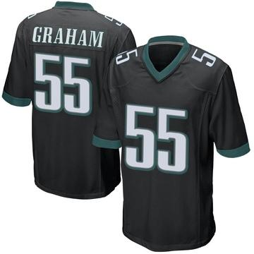 Youth Nike Philadelphia Eagles Brandon Graham Black Alternate Jersey - Game
