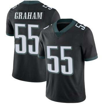 Youth Nike Philadelphia Eagles Brandon Graham Black Alternate Vapor Untouchable Jersey - Limited
