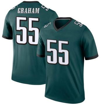 Youth Nike Philadelphia Eagles Brandon Graham Green Jersey - Legend