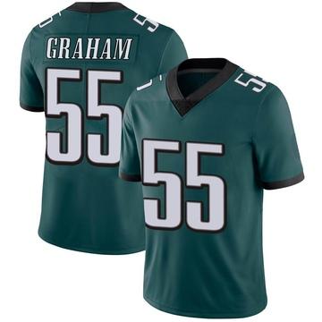 Youth Nike Philadelphia Eagles Brandon Graham Green Midnight Team Color Vapor Untouchable Jersey - Limited