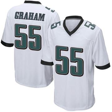 Youth Nike Philadelphia Eagles Brandon Graham White Jersey - Game