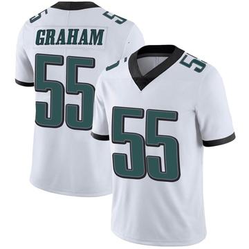 Youth Nike Philadelphia Eagles Brandon Graham White Vapor Untouchable Jersey - Limited