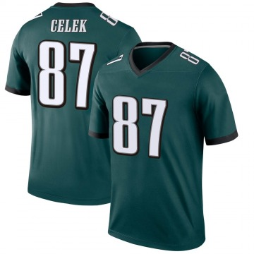 Youth Nike Philadelphia Eagles Brent Celek Green Jersey - Legend
