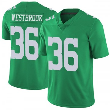 Youth Nike Philadelphia Eagles Brian Westbrook Green Vapor Untouchable Jersey - Limited