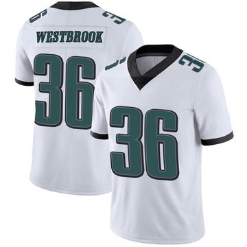 Youth Nike Philadelphia Eagles Brian Westbrook White Vapor Untouchable Jersey - Limited