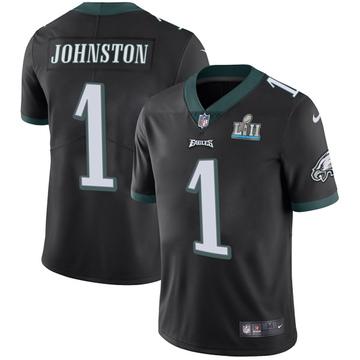 Youth Nike Philadelphia Eagles Cameron Johnston Black Alternate Super Bowl LII Vapor Untouchable Jersey - Limited