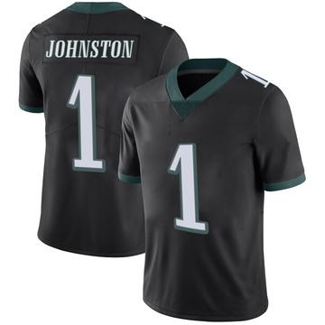 Youth Nike Philadelphia Eagles Cameron Johnston Black Alternate Vapor Untouchable Jersey - Limited