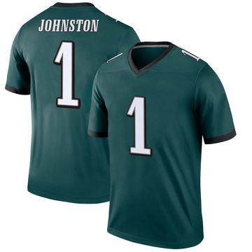 Youth Nike Philadelphia Eagles Cameron Johnston Green Jersey - Legend
