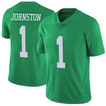 Youth Nike Philadelphia Eagles Cameron Johnston Green Vapor Untouchable Jersey - Limited