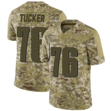 Youth Nike Philadelphia Eagles Casey Tucker Camo 2018 Salute to Service Jersey - Limited