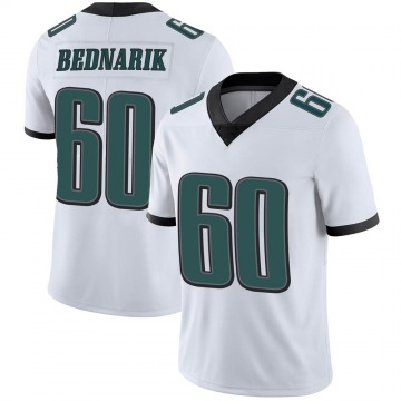 Youth Nike Philadelphia Eagles Chuck Bednarik White Vapor Untouchable Jersey - Limited
