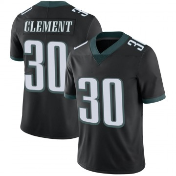 Youth Nike Philadelphia Eagles Corey Clement Black Alternate Vapor Untouchable Jersey - Limited