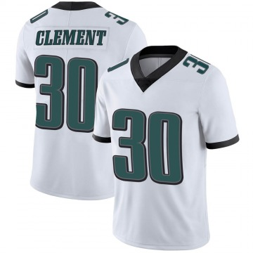 Youth Nike Philadelphia Eagles Corey Clement White Vapor Untouchable Jersey - Limited