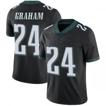 Youth Nike Philadelphia Eagles Corey Graham Black Alternate Vapor Untouchable Jersey - Limited