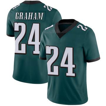 Youth Nike Philadelphia Eagles Corey Graham Green Midnight 100th Vapor Jersey - Limited