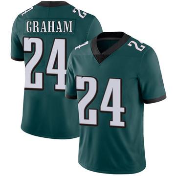 Youth Nike Philadelphia Eagles Corey Graham Green Midnight Team Color Vapor Untouchable Jersey - Limited