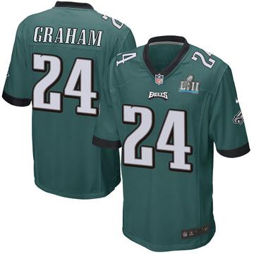 Youth Nike Philadelphia Eagles Corey Graham Green Team Color Super Bowl LII Jersey - Game