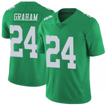 Youth Nike Philadelphia Eagles Corey Graham Green Vapor Untouchable Jersey - Limited