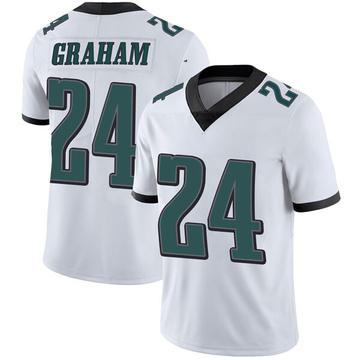 Youth Nike Philadelphia Eagles Corey Graham White Vapor Untouchable Jersey - Limited
