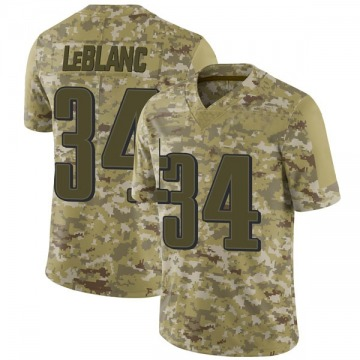 Youth Nike Philadelphia Eagles Cre'von LeBlanc Camo 2018 Salute to Service Jersey - Limited