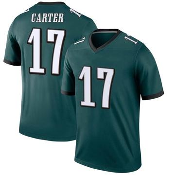 Youth Nike Philadelphia Eagles Cris Carter Green Jersey - Legend