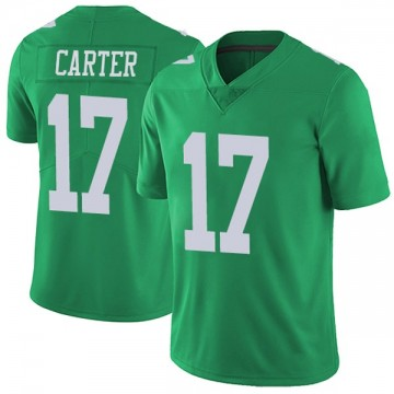Youth Nike Philadelphia Eagles Cris Carter Green Vapor Untouchable Jersey - Limited