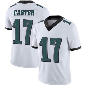 Youth Nike Philadelphia Eagles Cris Carter White Vapor Untouchable Jersey - Limited