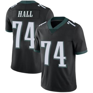Youth Nike Philadelphia Eagles Daeshon Hall Black Alternate Vapor Untouchable Jersey - Limited