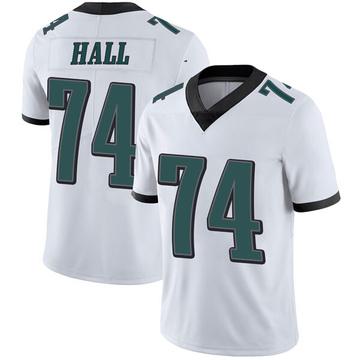 Youth Nike Philadelphia Eagles Daeshon Hall White Vapor Untouchable Jersey - Limited