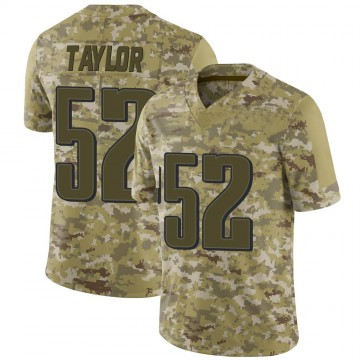 Youth Nike Philadelphia Eagles Davion Taylor Camo 2018 Salute to Service Jersey - Limited