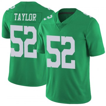 Youth Nike Philadelphia Eagles Davion Taylor Green Vapor Untouchable Jersey - Limited
