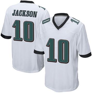 Youth Nike Philadelphia Eagles DeSean Jackson White Jersey - Game