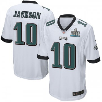 Youth Nike Philadelphia Eagles DeSean Jackson White Super Bowl LII Jersey - Game