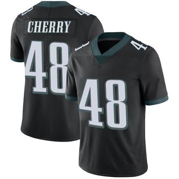 Youth Nike Philadelphia Eagles Don Cherry Black Alternate Vapor Untouchable Jersey - Limited