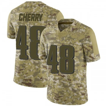 Youth Nike Philadelphia Eagles Don Cherry Camo 2018 Salute to Service Jersey - Limited
