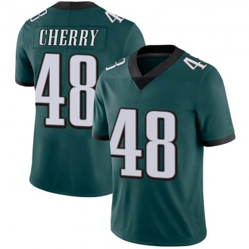 Youth Nike Philadelphia Eagles Don Cherry Green Midnight 100th Vapor Jersey - Limited