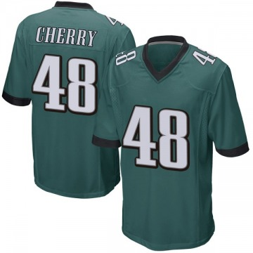 Youth Nike Philadelphia Eagles Don Cherry Green Team Color Jersey - Game