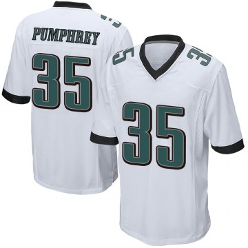 Youth Nike Philadelphia Eagles Donnel Pumphrey White Jersey - Game