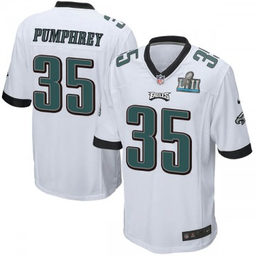 Youth Nike Philadelphia Eagles Donnel Pumphrey White Super Bowl LII Jersey - Game