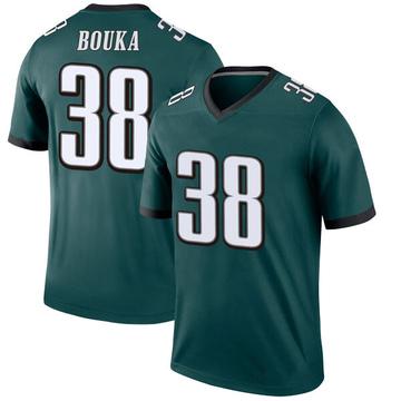 Youth Nike Philadelphia Eagles Elie Bouka Green Jersey - Legend